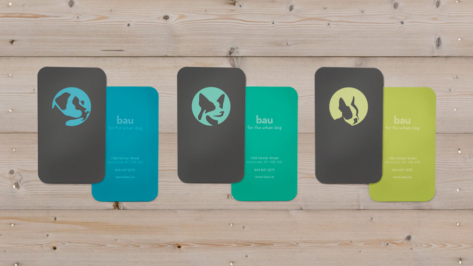 Bau Business Cards