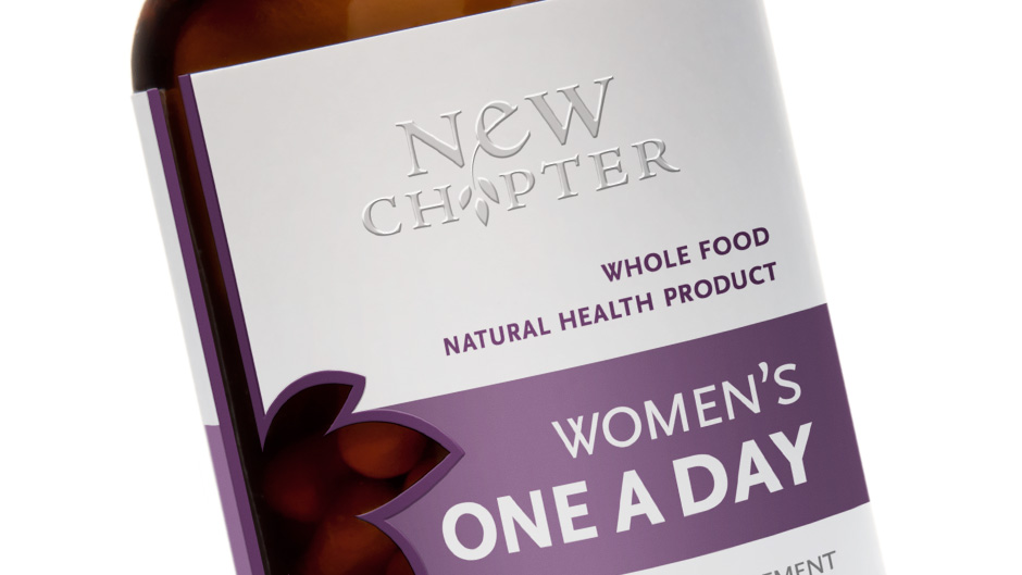 New Chapter's Women's One A Day Close Up